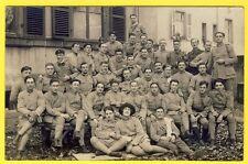 cpa CARTE PHOTO MILITAIRE 156 eme Régiment Soldats Poilus Uniformes Femme