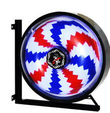 Clearance Price:Barber Pole LED Light Round Type for Commercial Barber Shop 12V