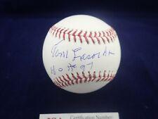 "Tommy ""Tom"" Lasorda LA Dodgers Signed OML Baseball  W/ HOF 97- JSA WPP655621"