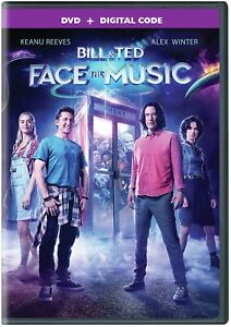 BILL & TED FACE THE MUSIC DVD   KEANU REEVES   ALEX WINTER