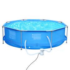 360 x 76cm Schwimmbecken Schwimmbad Swimming Frame Pool  achteckiger Gartenpool