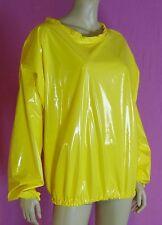 pulli pullover giallo adult neu XL pvc plastic NEU Diargh