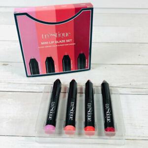 TRESTIQUE Mini Lip Glaze Set of 4 NIB