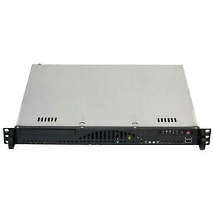 "Supermicro CSE-512-200B Rackmount 14"" Mini 1U Server Chassis"