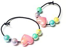 100 pcs Heart Bracelet Princess Girl Pinata gift kids giveawasy souvenirs gadget