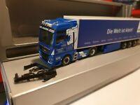 MAN TGX GARBE Transport Hamburg  MINIATUR WUNDERLAND / Die Welt ist klein 936392
