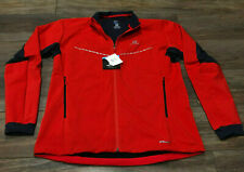 SALOMON Mens Agile Softshell Jacket Fiery Red XXL Full Zipper Long Sleeve New