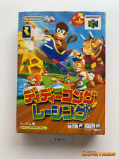 DIDDY KONG RACING Nintendo 64 N64 JAPAN Ref:310531
