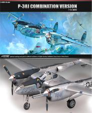 Academy 12282 P-38 Lightning Model Building Kit 1 48