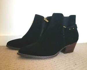 Target Womens Lily Loves Bondie Buckle Boots Black Size 8