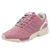 adidas Originals Women's ZX Flux Leather Trainers Pink