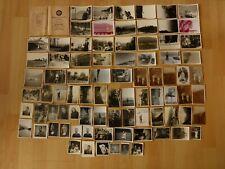 Konvolut alte Fotos: 84x altes Foto Menschen Personen Mann Frau Coburg ...