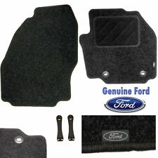 Ford S-Max MPV Black Carpet Front Mats Genuine OE New Car Floor Replacement