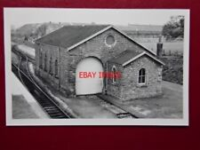 PHOTO  WOOKEY RAILWAY STATION AND LOCO SHED WELLS - LODGE HILL. SHEPTON MALLET T