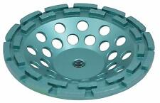 7 Inch Diamond Cup Wheel for Grinding Concrete and Masonry, Double Row