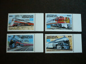 Stamps - Barbuda - Scott# 804-807
