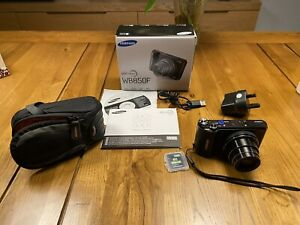 Samsung WB850F SMART Compact Digital Camera & Lowepro Case & More. 8 Piece Set