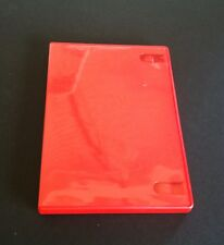 NEW Red DVD CD Cases with Sleeve Video Game Storage XBOX 360  PS2 PS3 Wii