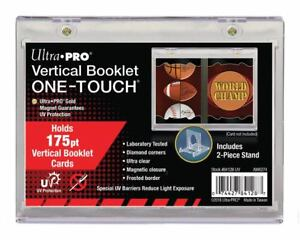 Ultra PRO One-Touch Vertical Booklet 175pt Magnetic Card Protector UV Protection