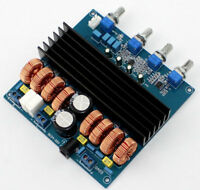 New TDA7498 + TL072 Class D 2.1 Amplifier Board 200W+2X100W