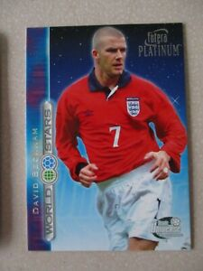 Futera Platinum World Stars Team Universe David Beckham Manchester United