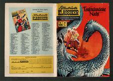 CGB Illustrated Classics 108 * tausenundeine Night * 2. Edition hln130 * Z 1-2