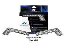Hyundai LED Tagfahrlicht + R87 Modul L-Form TFL1