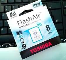 Toshiba flashAir 8GB Wireless Lan Speicherkarte