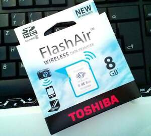 Toshiba flashAir 8GB Wireless Lan Speicherkarte