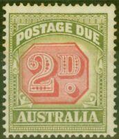 Australia 1938 2d Carmine & Yellow Green SGD114 Fine MNH