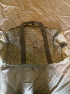 PUMA XO The Weeknd Charcoal Wash Duffle Bag