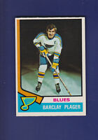 Barclay Plager 1974-75 O-PEE-CHEE OPC Hockey #87 (EXMT) St. Louis Blues