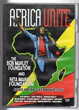 dvd AFRICA UNITE The Bob Marley foundation 6 FEBBRAIO 2005
