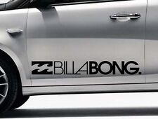 2x Billabong Surf Logo Vinile Auto / Van Grafica Decalcomania Adesivi Qualsiasi Colore VW # 3