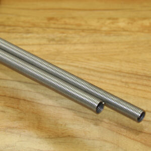 """1Pcs 0.4mm WD """"1M """" Stainless Steel Extension Tension Spring Sleeve 1000mm Long"""