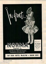1951 ADVERT Norma Majorette Miniature Doll Chemcraft Sciencecraft Toolcraft