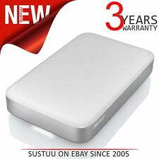 Buffalo 1TB MiniStation Thunderbolt USB 3.0 Portable External Hard Drive│Silver