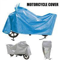 XXL Aquatex Moto Housse Extérieure Imperméable Grande Moto Scooter Bleu ME