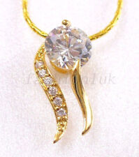 Beauty Simulated CZ Costume Necklaces & Pendants