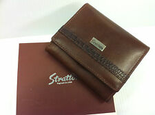 Personalised Stratton Leather Ladies Purse Engraved Free