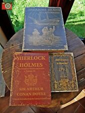 A SET OF 3 BEAUTIFUL BOOK BOXES, VINTAGE STYLE CLASSICS, NICE BOXES, GREAT GIFT.