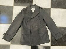 NWT 100% AUTH Burberry Kids Mini Silvan Double Breasted Wool Coat Sz 10