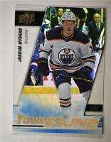 2019-20 UD SP Authentic Acetate Young Guns #213 Joakim Nygard - Edmonton Oilers