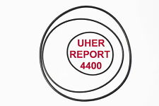 COURROIES SET UHER REPORT 4400  MAGNETOPHONE A BANDE EXTRA FORT NEUF DE FABRIQE