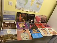 60 x VINTAGE VINYL LP RECORDS VARIOUS ARTISTS JOBLOT  50/60/70/80/90's---(4)