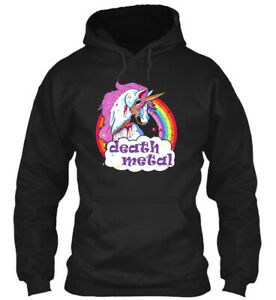 Teespring Zombie Unicorn Death Metal Classic Pullover Hoodie