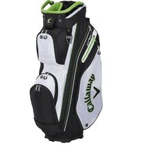 Callaway Epic ORG 14 Cart Golf Bag - White/Black/Green - New 2021