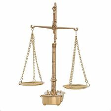 Scales Apothecary Balance With Weights Brass Antique Style