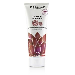 NEW Derma E Rosehip & Almond Protecting Shea Body Lotion 227g Womens Skin Care
