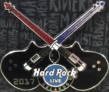 Hard Rock Live Orlando 2017 Crossed Light Saber Guitar Pin Star Wars Weekends